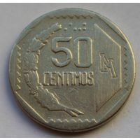 Перу, 50 сентимо 1991 г.