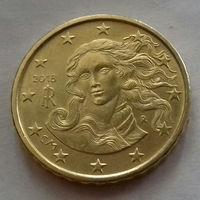 10 евроцентов, Италия 2018 г., AU