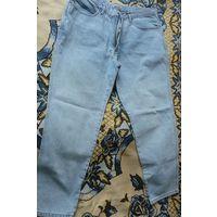 """Джинсы мужские голубые""""Original DENIM official licenced product jeans registered trade mark"""", 100% хлопка, р. 54. Как новые!"""