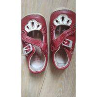 Обувь детская Clarks 19 размер нат.кожа