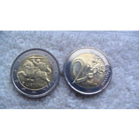 Литва 2 евро 2015г. распродажа