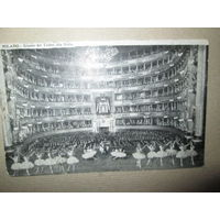 Открытое письмо Милан театр Ла-Скала Россия 1912 г.