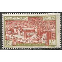 Гваделупа. Производство сахара. 1928г. Mi#98.
