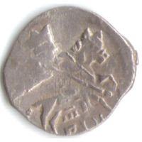 Копейка 1611-1617 Шведская оккупация Новгорода PIH под конем_состояние XF