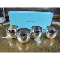 Комплект рюмки тиффани серебро Tiffany в родной коробке клейма