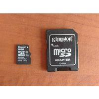 Карта памяти Kingston MicroSDHC Class 10 16 GB