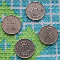 Швеция 10 эре (центов). Адольф Густав VI. Инвестируй выгодно в монеты планеты!