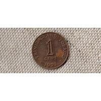 Тринидад и Тобаго 1 цент 1971/ KM# 2