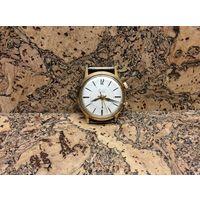Часы Полнт с будильником,позолота 20м.Старт с рубля.