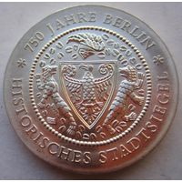 ГДР. 20 марок 1987. Серебро. 266