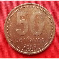 05-09 Аргентина, 50 сентаво 2009 г.