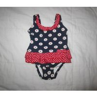 Mini mode swimsuit Потрясающий купальник для малышки до года