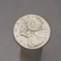 Канада 25 центов 1979