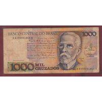 БРАЗИЛИЯ. 1000 крузадо 1987-88. А8998091868А  распродажа