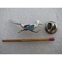 Знак. Птица. Калифорнийская кукушка. (тяжёлый, цанга)