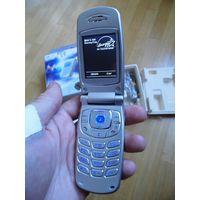 Раритетный сотовый телефон Samsung SGH-S500 (полнейший комплект!)