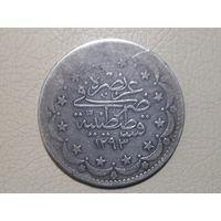 Турция 20 Куруш 1878г