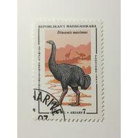 Мадагаскар 1994. Динозавры. Доисторические животные.