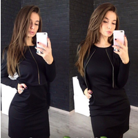 Костюм женский: платье + жакет