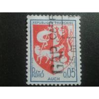 Франция 1966 герб г. Аух