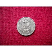 Туркменистан 1000 манат 1999 г.