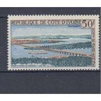 [378] Кот ди Вуар 1963.Мост.