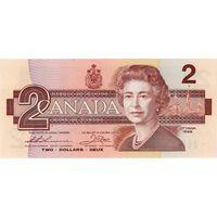 Канада, 2 доллара, 1986 г., UNC