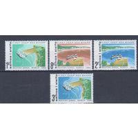 [2246] Самоа 1966. Порт Апиа.Корабли. СЕРИЯ MNH