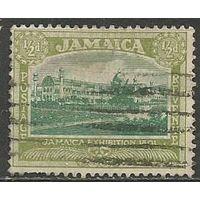 Ямайка. Выставочное здание. 1921г. Mi#88.