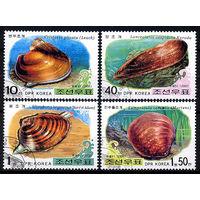 2002 КНДР. Моллюски