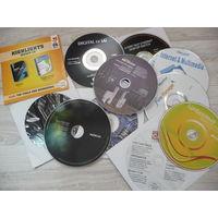 Установочные диски и программы к ПК 11 штук