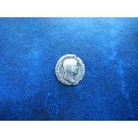 Динарий. Император АДРИАН 117 - 138гг.  н.э.