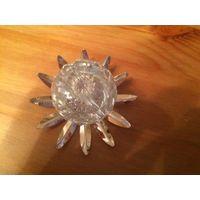 Красивые элементы для поделок или для украшения интерьера. Металл.  В цвете серебро - никеле-серебряное покрытие, шар диаметром 6 см, в цвете золота шары 2 и 2 см в диаметре.