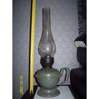 Лампа керосиновая со стеклом