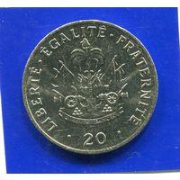 Гаити 20 сантимов 1991 UNС