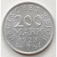 Германия 200 марка 1923 G 2
