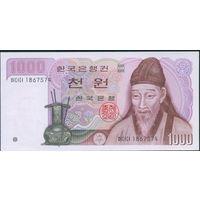 Южная Корея (1983) 1000 вон UNC P