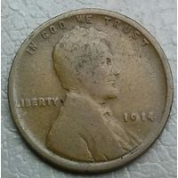 США 1 цент 1914