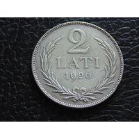 Латвия 2 лата 1926 год.