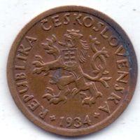 Чехия, Первая Республика, 10 геллеров 1934 года.