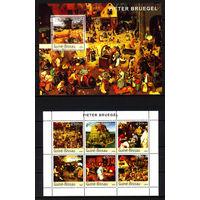 2003 Гвинея-Бисау. Художник Питер Брейгель