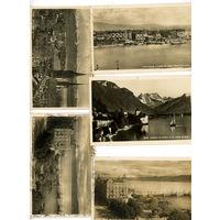 5 открыток Цюрих Женева до 1940г