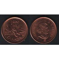 Канада _km490 1 цент 2008 год km490a магнит (f32)*