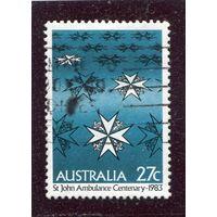 Австралия. Мальтийский крест