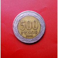 86-27 Чили, 500 песо 2000 г.