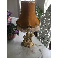 Итальянская настольная лампа в стиле Барокко
