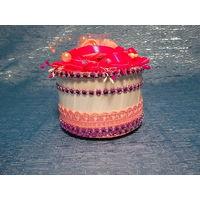 Мини-Шкатулка для подарка , ювелирных украшений -ручной работы (ремесленник) имеется в наличии( Уточнить обязательно!) или изготовлю  на заказ!