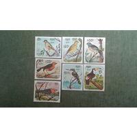 Марки Камбоджа птицы