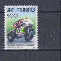 [766] Сан Марино 1981.Мотоспорт.Мотоцикл.
