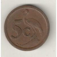 Южная Африка 5 цент 1993